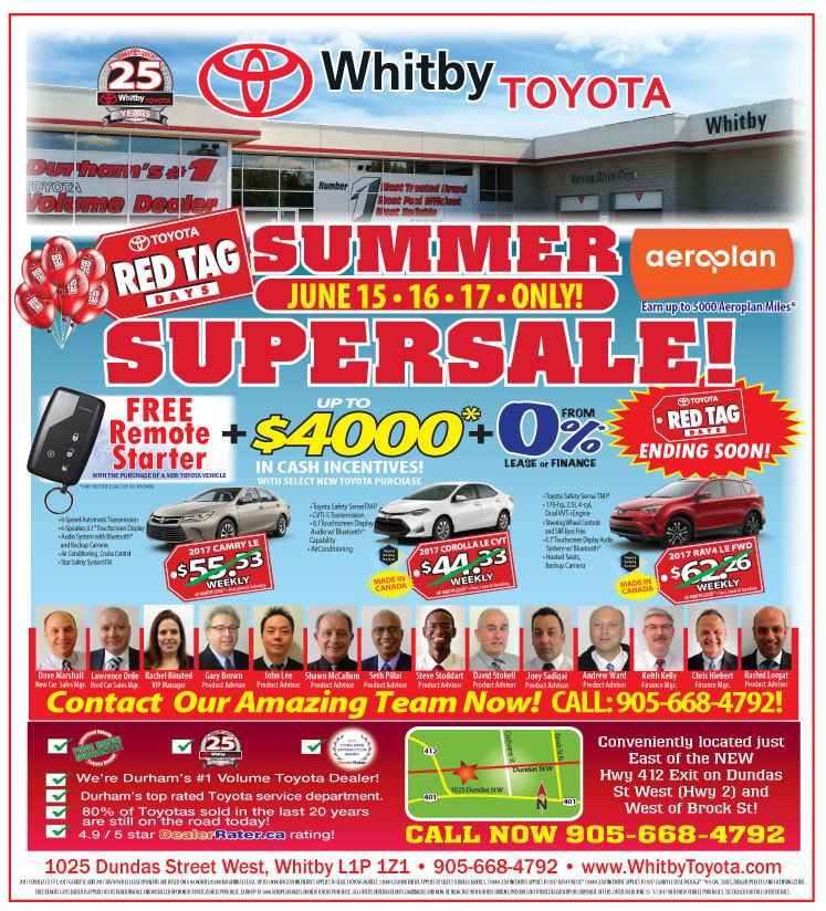 Red Tag Days Supersale June 2017