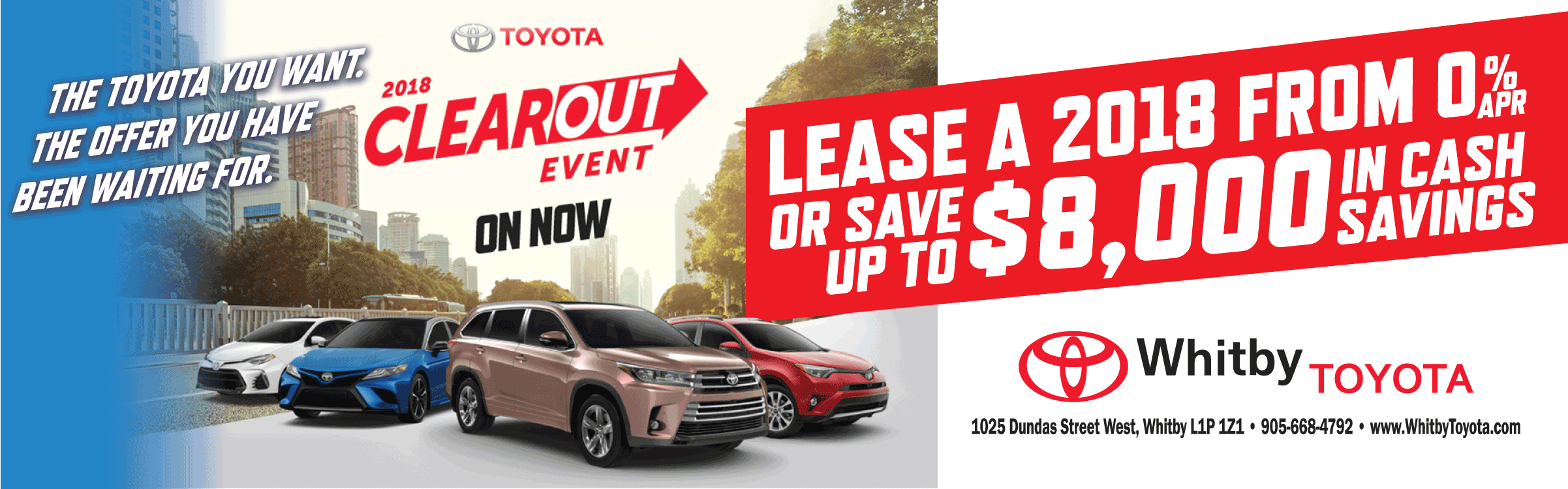 Whitby Toyota: New U0026 Used Toyota Dealership | Whitby, ON.